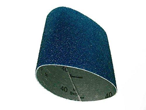 CS Unitec 42080 PTX Zirconium Grinding Belt Sleeve 80 Grit 3-12 Diameter x 4 Wide Pack of 10