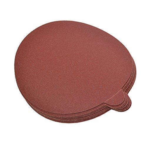 HQRP 6-Inch 120-Grit Self Stick Sanding Discs for Craftsman Random Orbit Sander Sandpaper 6 30 Pack