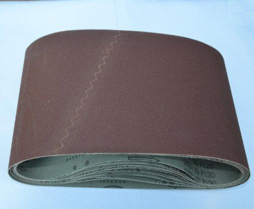 Premium Cloth Floor Sanding Belt  8 x 19 120 grit Drum Sander Sandpaper  -  10PCS PACK