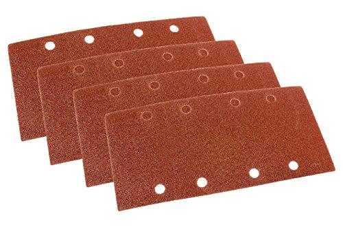 WEN 6313SP 13 Sheet Sander Hook-and-Loop Sandpaper 12 Pack Assorted Grits