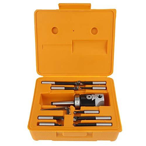2 Boring Head SET 12 Pcs Carbide Boring Bars MT2 -M10 F1-12 50mm Boring Head With 9pcs 12mm Boring Bars Milling Machine Accessories