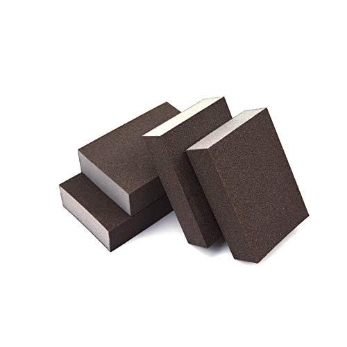 Extra Fine 400 Grit Manual Sanding Sponge Sheet Kitchen Polishing Grinding Abrasive Sponge Block 4-Inch 4-Pack