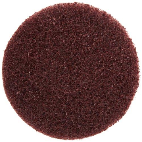 Merit Type III Abrasotex PowerLock Nonwoven Abrasive Buffing Disc Nylon Backing Waterproof 3 Diameter Grit Medium  Case of 25
