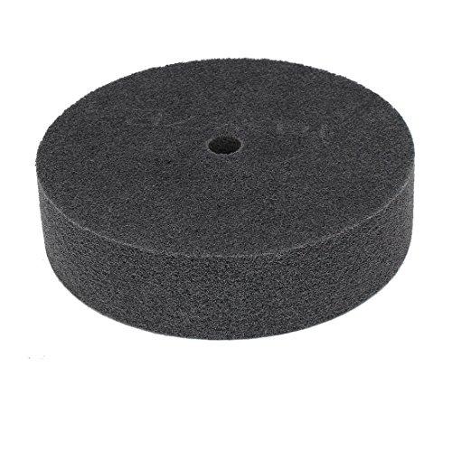 uxcell 8 Inch Dia 2 Inch Thick 7P 180 Grit Nylon Fiber Wheel Abrasive Polishing Buffing Disc