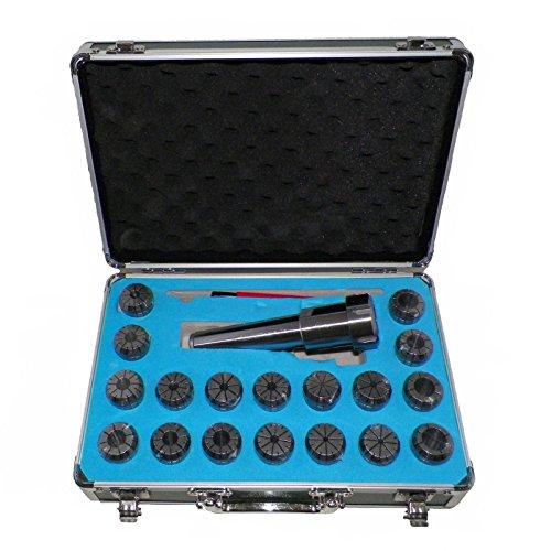 MT3 ER32 Collet Chuck Tool Holder Set 18 Pcs ER32 Collets Holder
