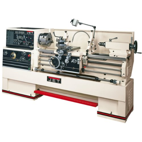 JET GH1440ZX Lathe with ACU-RITE 200S DRO and Collet Closer Installed