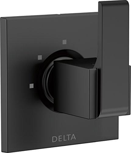 Delta Faucet T11867-BL Ara 3-Setting 2-Port Diverter Trim Matte Black