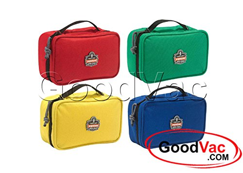 Ergodyne Arsenal 5876K Small Set of 4 Zippered Tool Bag Organizer Color Coded Clamshell Tool Organizers