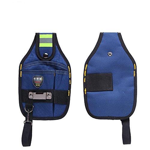 NOPTEG Professional Electricians Tool Pouch Organizer Waist Pouch Bag 600d Oxford cloth 3-Pocket