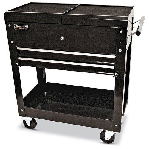 Homak BK06022704 27-Inch 2-Drawer Tool Cart