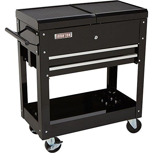 Ironton 2-Drawer Tool Cart - 350-Lb Capacity