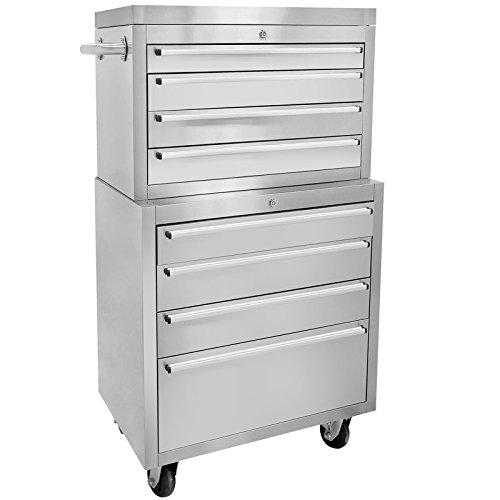 MCM3 30W Stainless Steel Tool Chest8 drawersAnti-fingerprint