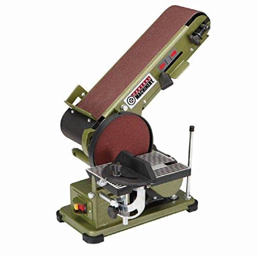 4 in x 36 in Belt 6 in 120V Disc Sander Combo Shape smooth wood easily