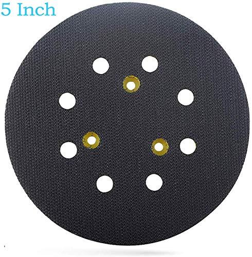 Wadoy 5 Inch Sander Pad Replacement for Dewalt Random Orbit Sander DW421 D26451 8 Hole Hook and Loop Sanding Pad Replaces 151281-08 DW4388 RSP26
