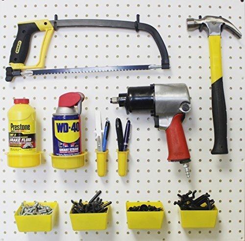 48 Pc Peg Hook Kit- Pegboard Tool Storage - Craft Organizer Y-B
