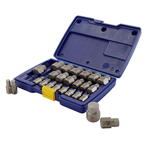 IRWIN HANSON Hex Head Multi-Spline Screw Extractor Set 25 Piece 53227