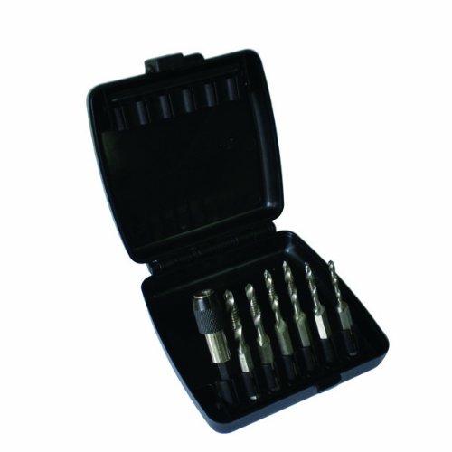 Astro 9452 Metric Combination DrillTap Bit Set 7-Piece