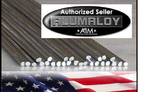 ALUMALOY 1 lb Pound Aluminum REPAIR Rods No Welding Fix Cracks Drill Tap Polish or Paint