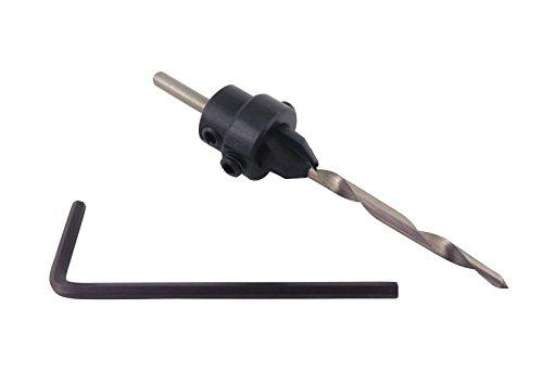 Star M 8 Countersink Drill Bit Taper Drill Bit Adjustable Depth Stop 325 Long 00780