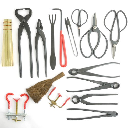 ThinkBamboo Bonsai 16pc Master Tool Set