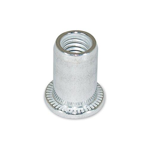 M6 Metric Aluminum Nut Rivets 100pc