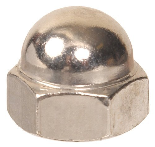 The Hillman Group 3391 M6 Metric Acorn Nut 15-Pack by The Hillman Group