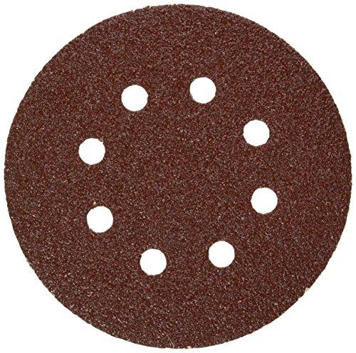 Bosch SR5R042 Random Orbit Sander Hook and Loop 8 Hole Disc 5-Inch 40 Grit Sand Paper Red 25-Pack
