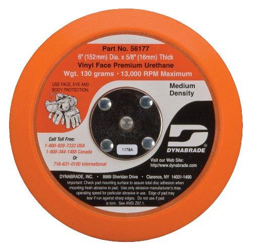 Dynabrade 56177 6-Inch Vinyl-Face Non-Vacuum Disc Pad