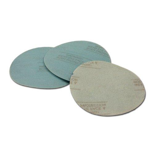 6 Inch 220 Grit Hook and Loop Wet  Dry Auto Body Film Sanding Discs  10-Pack