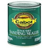 Valspar 1440008065005 Cabot Interior Quick Dry Sanding Sealer Finish