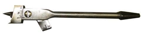 Irwin 1 Expansive Wood Boring Bit Brace Shank 58 to 1 34 Inch NOS USA