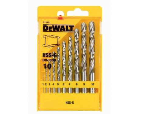 Dewalt Metal Drillbit Set 10