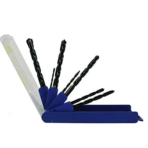 Artu 01510 Multi-Purpose Cobalt and Tungsten Carbide Drill Bit Set 7-Pieces