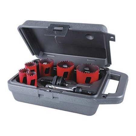 Morse Hole Saw KitSaw Sizes 34 to 2-14