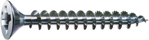 SPAX 8 x 1-14in Flat Head Unidrive Zinc Coated Screw - 1 LB Box