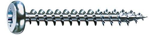 Spax screws with T-Star plus PaN-Head Wood Screws - 6 x 50 MM Galvanised by Spax