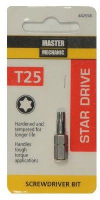 Disston 442558 Master Mechanic Torx 25 1-Inch Insert Bit Tip - Quantity 6