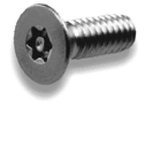 M5-080 x 20 Tamper Resistant Torx Flat Head Machine Screw 18-8 Stainless Steel - Metric T-25 20