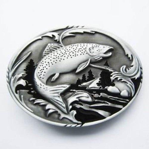 Brand New Fish Tream Wildlife Fishing Belt Buckle