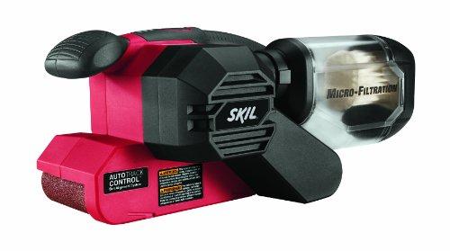 SKIL 7510-01 Sandcat 6 Amp 3-Inch x 18-Inch Belt Sander with Pressure Control