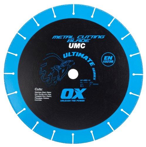 OX OX-UMC-14 Ultimate Metal Cutting 14-Inch Chop Saw Blade