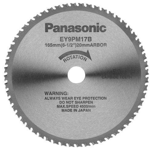Panasonic EY9PM17B 6 12-Inch 56-Teeth Thin Metal Cutting Blade