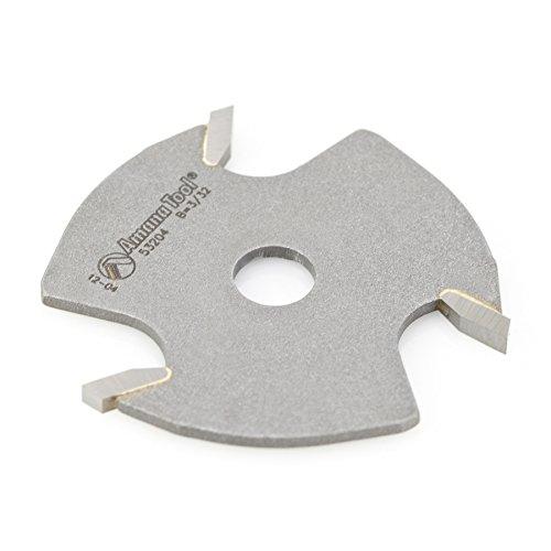 Amana Tool 53204 Slotting Cutter 3 Wing x 1-78 D x 332 CH x 516 Inner D