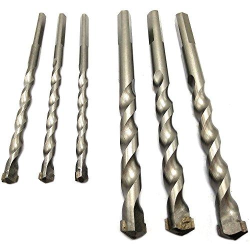 6MM 10MM Impact drill bit drill wall drill construction drill concrete impact drill set packgaeof 6 pcs