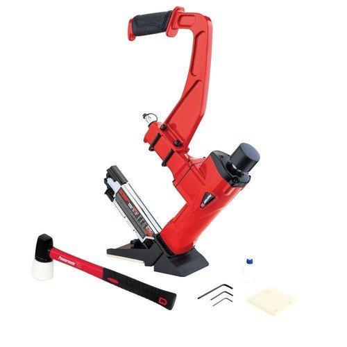 Powermate VX HWFN3N1P 3-in-1 Hardwood Nailer  Stapler Red