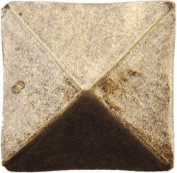 Bulk Buy Dritz Upholstery Decorative Nails 34 10Pkg-Antique Brass Square 6-Pack