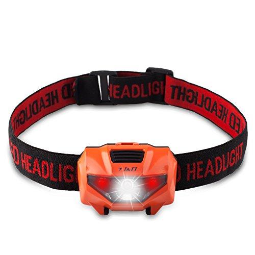 J&D LED Headlamp WaterProof Flashlight Perfect for Camping Hiking Running Reading