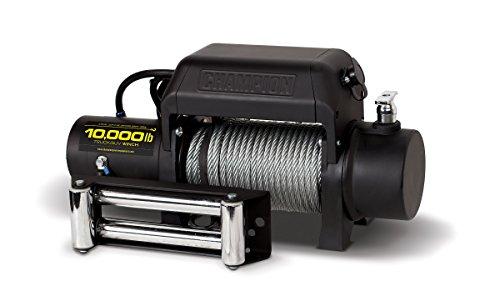Champion Power Equipment 11008 10000 lb TruckSUV Winch Kit 12V DC