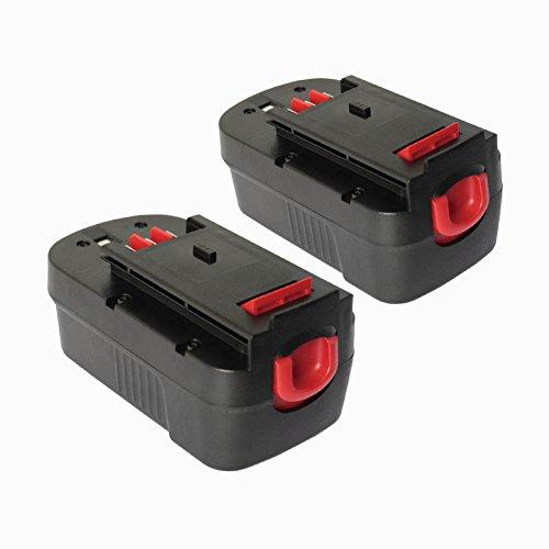 Topbatt 2Packs 18V 30Ah HPB18 Replacement Battery for Black and Decker 18V Outdoor Power Equipment HPB18 HPB18-OPE 244760-00 A1718 A18 A18E Firestorm FS180BX FS18BX FS18FL FSB18 NST2118