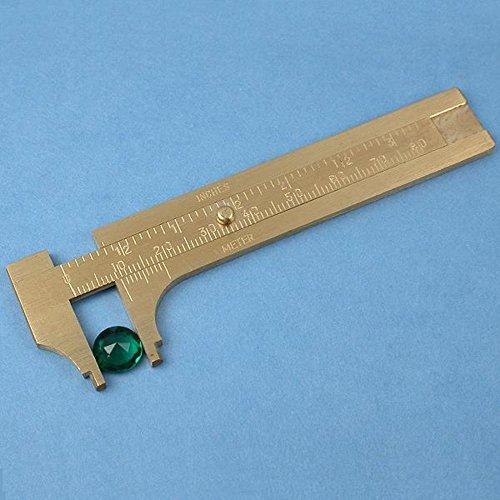 Sliding Millimeter Gauge Measuring Ruler Tool